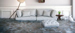 flooded livingroom