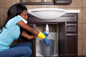 water damage plumbing