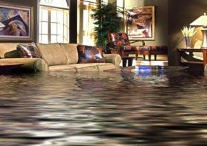 Water damage cleanup in Lapeer, MI.
