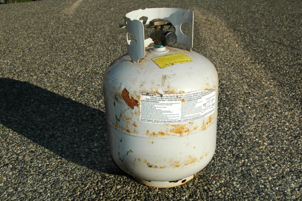 One leading cause of Grand Blanc home fires are flammable liquids.