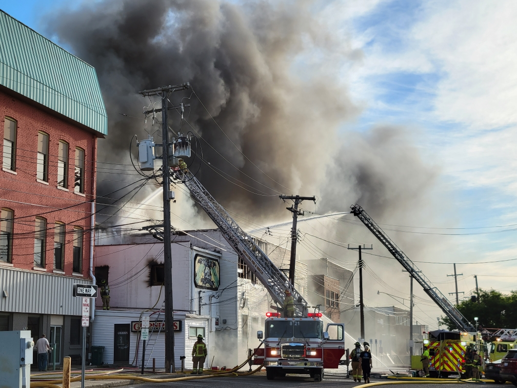 Fire damage cleanup in Lapeer