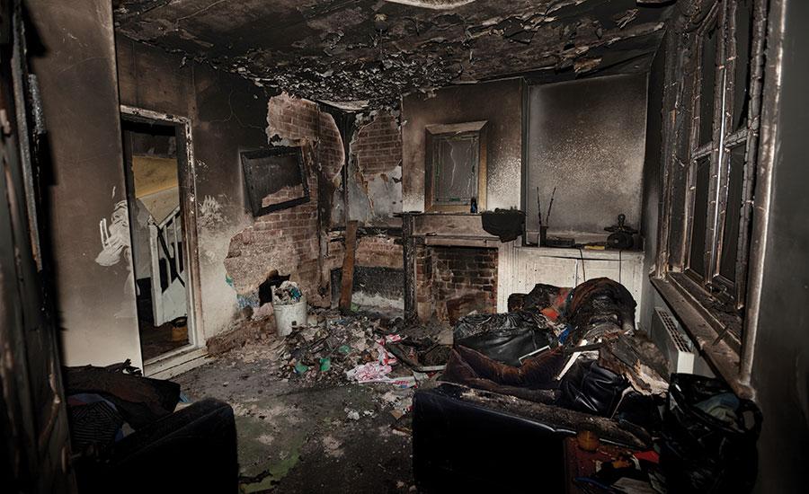 Smoke damage cleanup Lapeer, MI