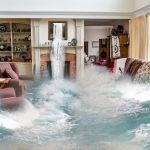 Water damage cleanup in Davison, MI.