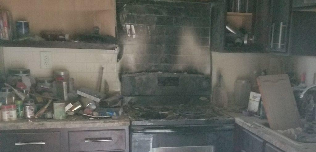 Smoke damage Davison
